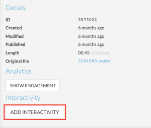 VAST Add Interactivity